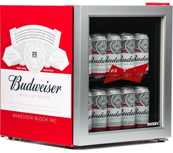 HUSKY Budweiser HUS-HU253 Drinks Cooler - Red