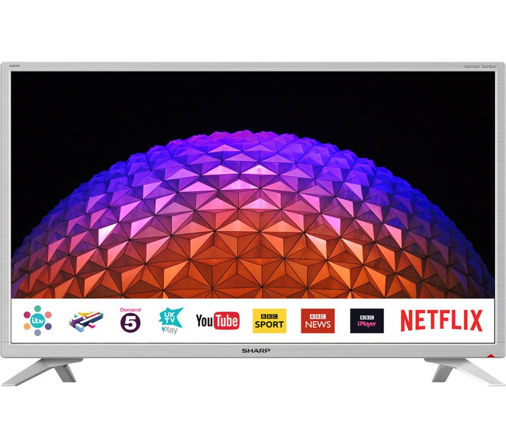 "SHARP LC-32HI5232KFW 32"" Smart LED TV - White"