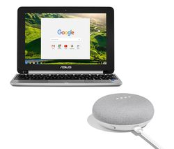 "ASUS C101 10.1"" 2 in 1 Chromebook - Silver"