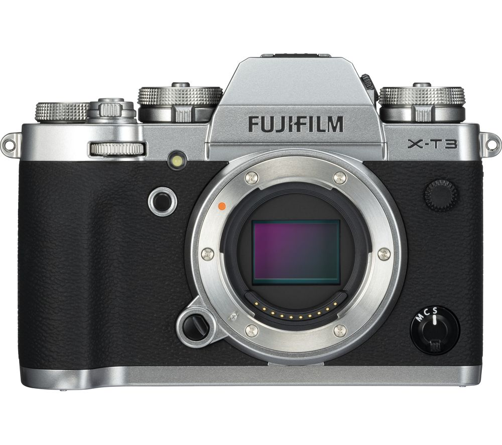 Click to view product details and reviews for Fujifilm X T3 Mirrorless Camera Silver Body Only Silver.