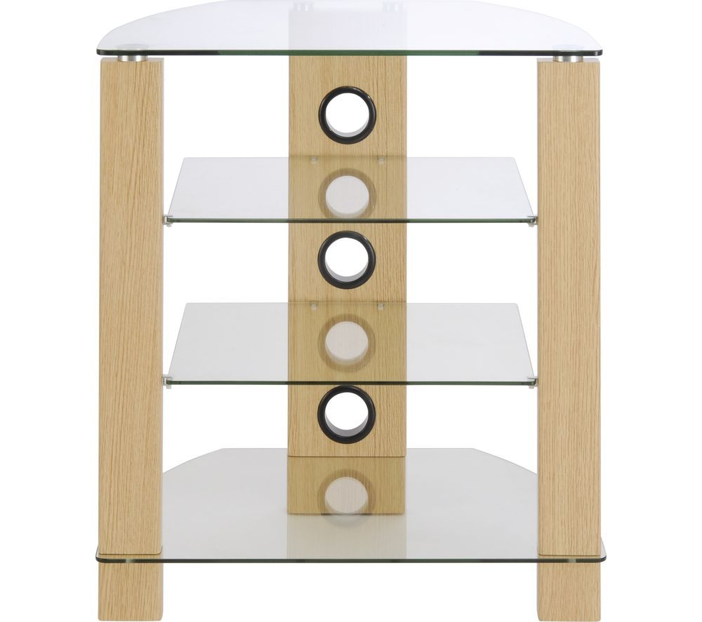 TTAP Vision 650 mm HiFi Stand - Light Oak