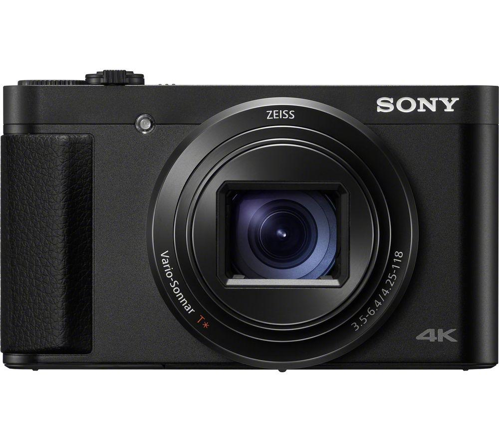 SONY Cyber-shot HX95 Superzoom Compact Camera - Black