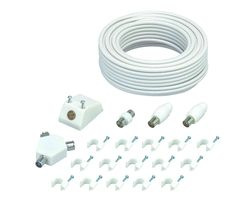 LAEK19 Aerial Cable & Adapters Extension Kit - 15 m