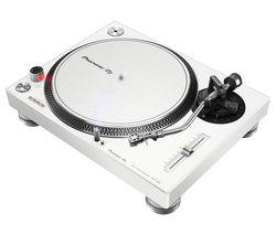 PIONEER DJ PLX-500 Direct Drive Turntable - White