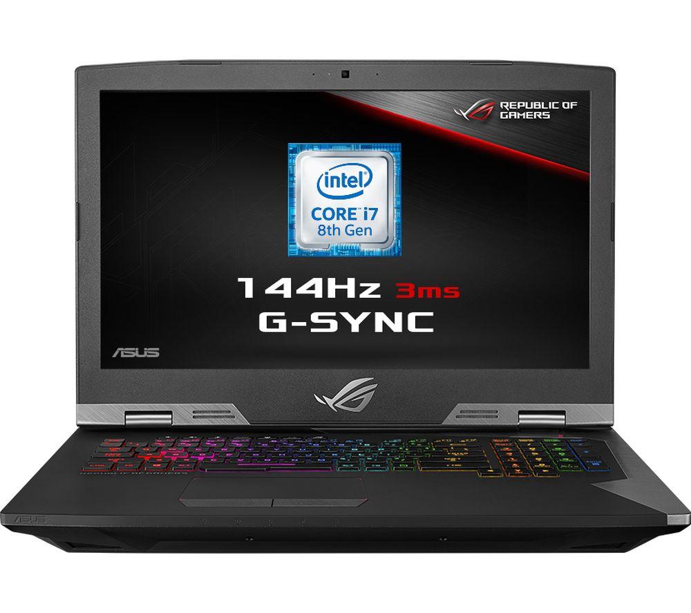 "Image of ASUS ROG G703GX 17.3"" Intel® Core™ i7 RTX 2080 Gaming Laptop - 1 TB HDD & 512 GB SSD"
