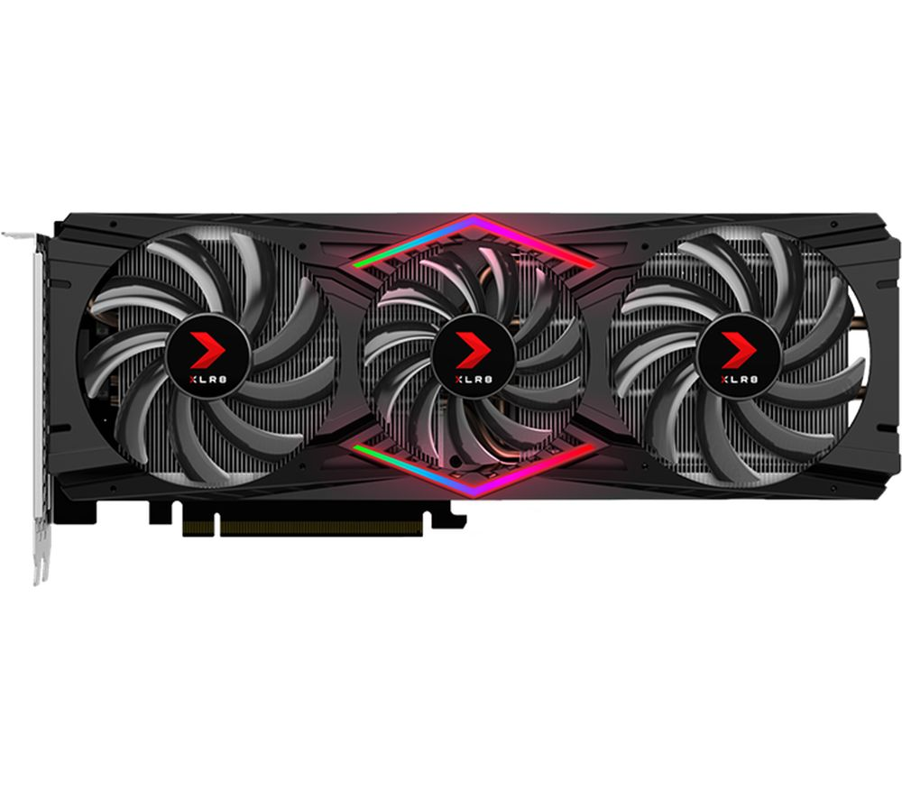 PNY GeForce RTX 2080 8 GB XLR8 Gaming Triple Fan OC Graphics Card