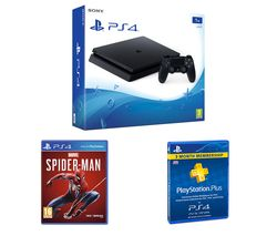 SONY PlayStation 4, Marvel's Spider-Man & PlayStation Plus Bundle