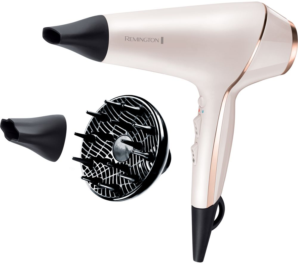 REMINGTON PRO-Luxe AC9140 Hair Dryer - White
