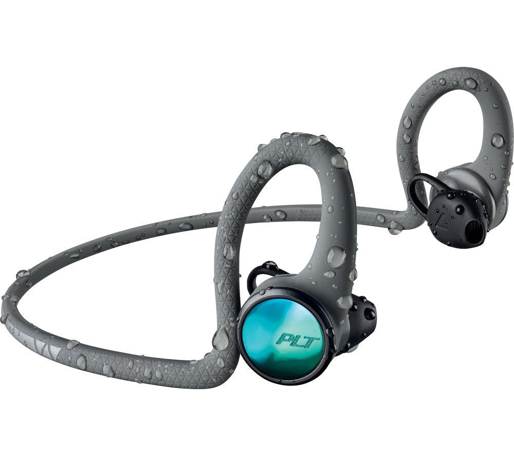 PLANTRONICS BackBeat FIT 2100 Wireless Bluetooth Headphones - Grey