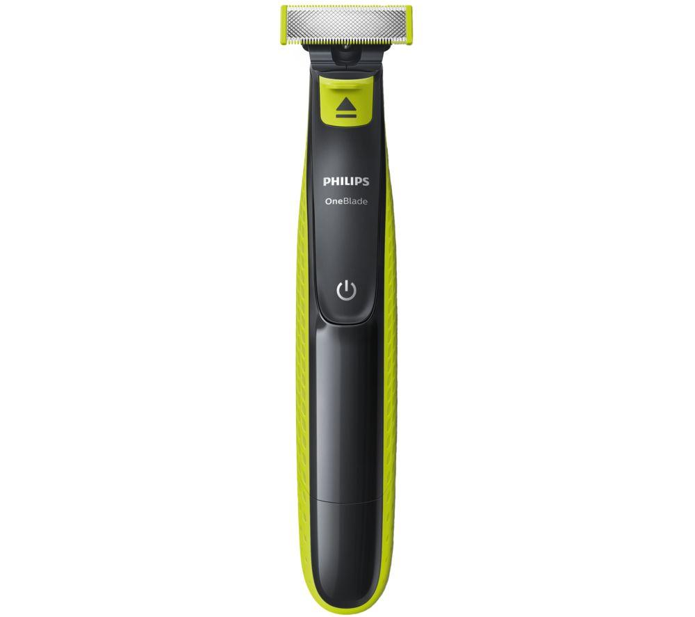 PHILIPS OneBlade QP2520/25 Wet & Dry Foil Shaver - Green & Black