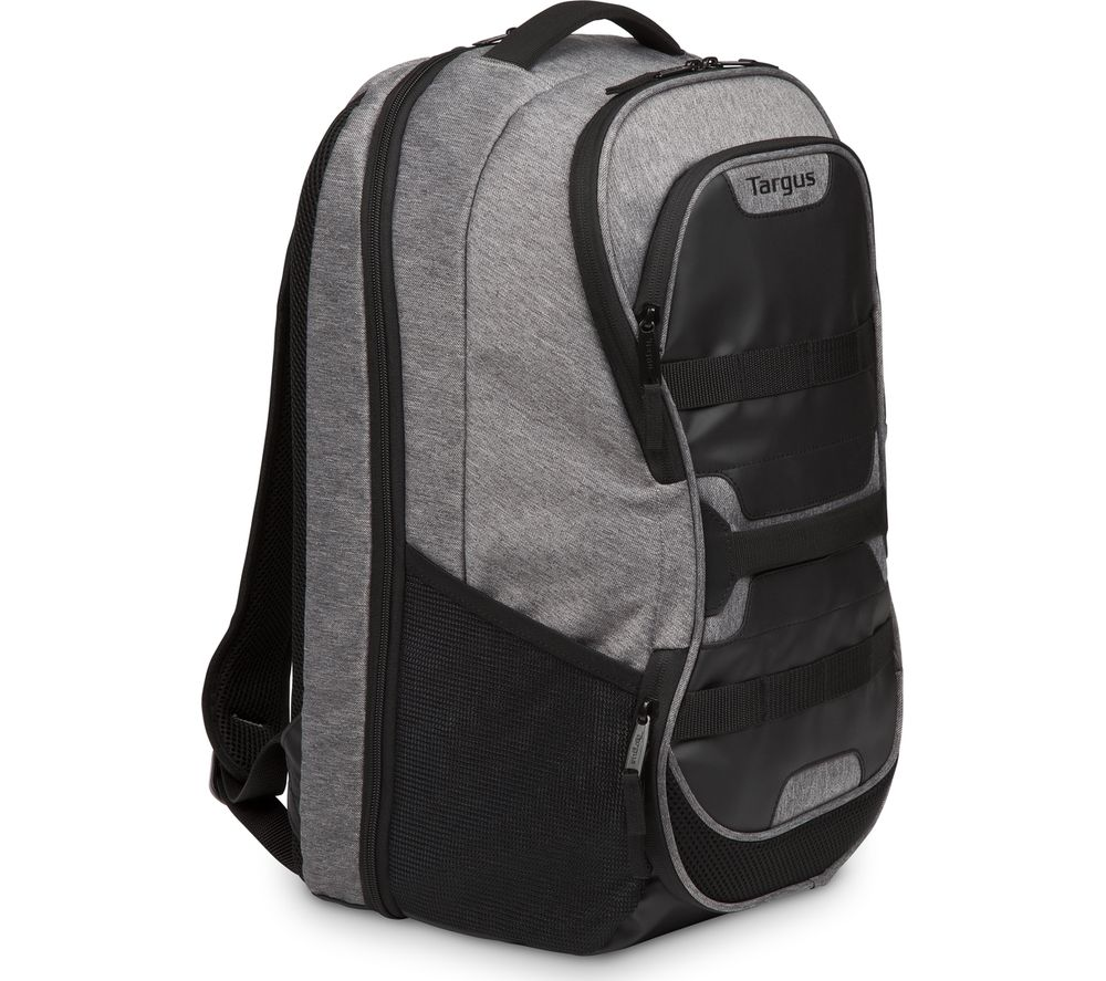"TARGUS Work + Play Fitness 15.6"" Laptop Backpack - Grey & Black"