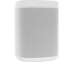 SONOS One Wireless Multi-room Speaker with Amazon Alexa & Google Assistant - White (Gen 2)