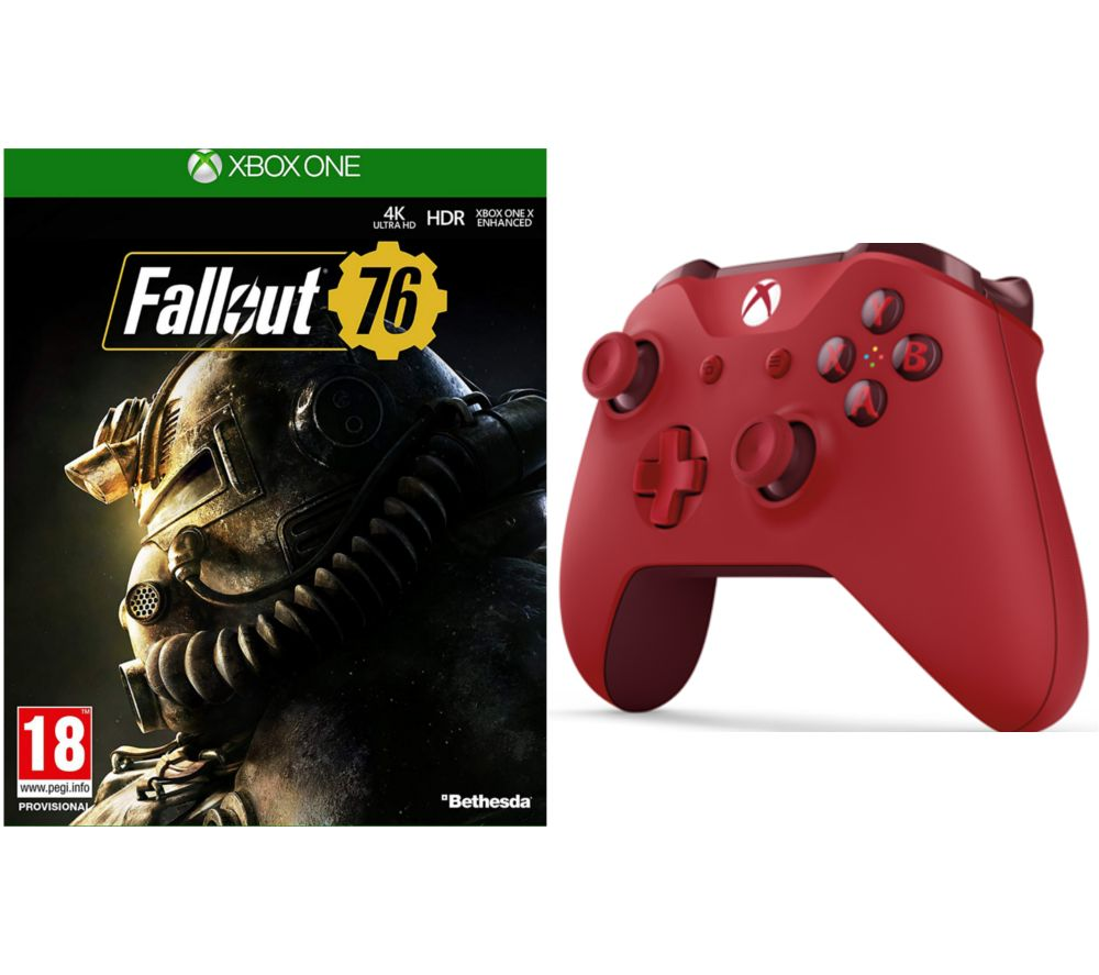 MICROSOFT Fallout 76 & Xbox One Wireless Controller Bundle