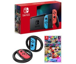 NINTENDO Switch - Neon Red & Blue