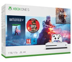 Xbox One S with Battlefield V & Apex Legends Founders Pack - 1 TB