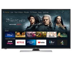 "JVC LT-49CF890 Fire TV Edition 49"" Smart 4K Ultra HD HDR LED TV with Amazon Alexa"
