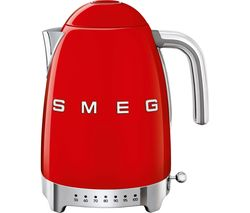 SMEG 50's Retro Style KLF04RDUK Jug Kettle - Red