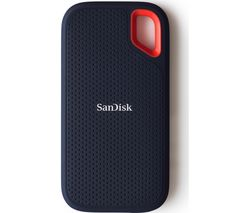 SANDISK Extreme Portable External SSD - 500 GB, Black