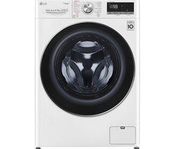 LG FWV796WTS WiFi-enabled 9 kg Washer Dryer - White