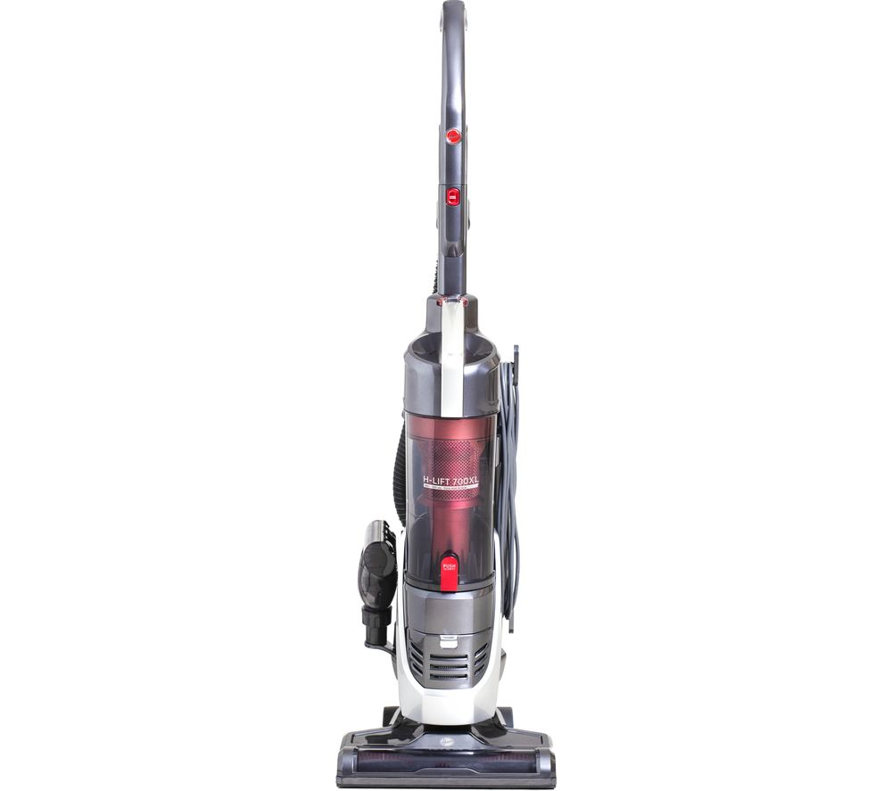H-LIFT 700 Pets XL Upright Bagless Vacuum Cleaner - Red, Red