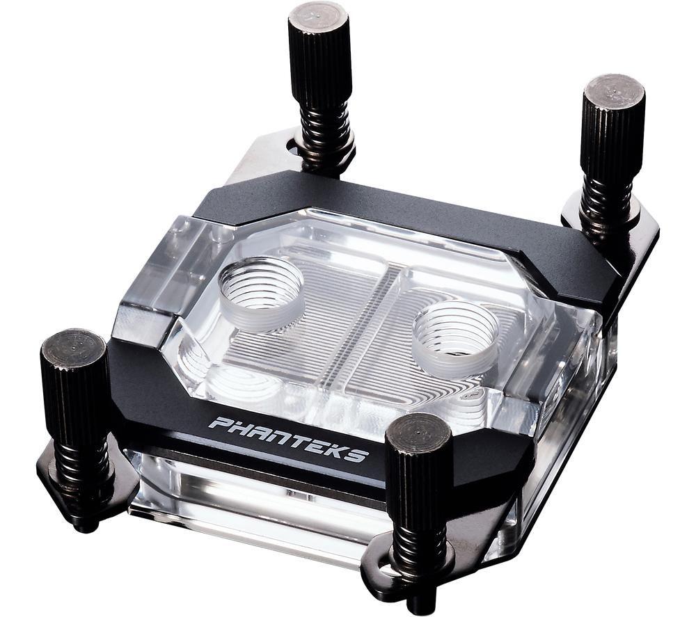 PHANTEKS Glacier C350A CPU Water Block - Satin Black