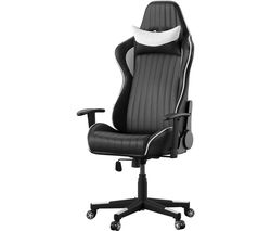 Senna Gaming Chair - Black & White