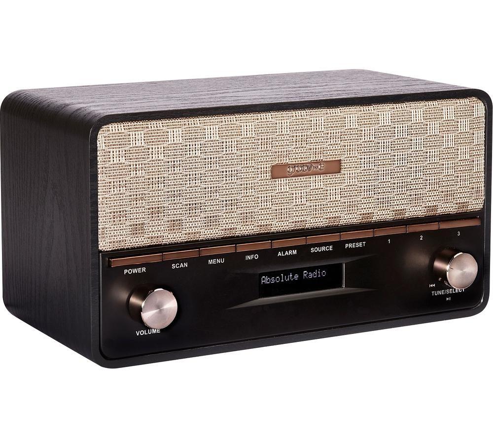 Image of Encore GV-DR02-BK Bluetooth Radio Speaker - Black, Black