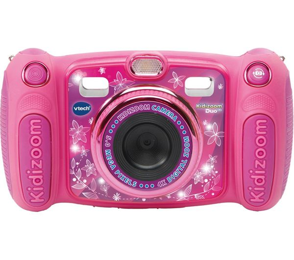 Image of VTECH Kidizoom Duo 5.0 Compact Camera - Pink
