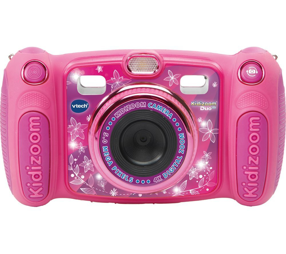 Image of VTECH Kidizoom Duo 5.0 Compact Camera - Pink, Pink