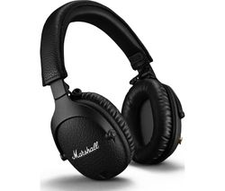 Monitor II Wireless Bluetooth Noise-Cancelling Headphones - Black