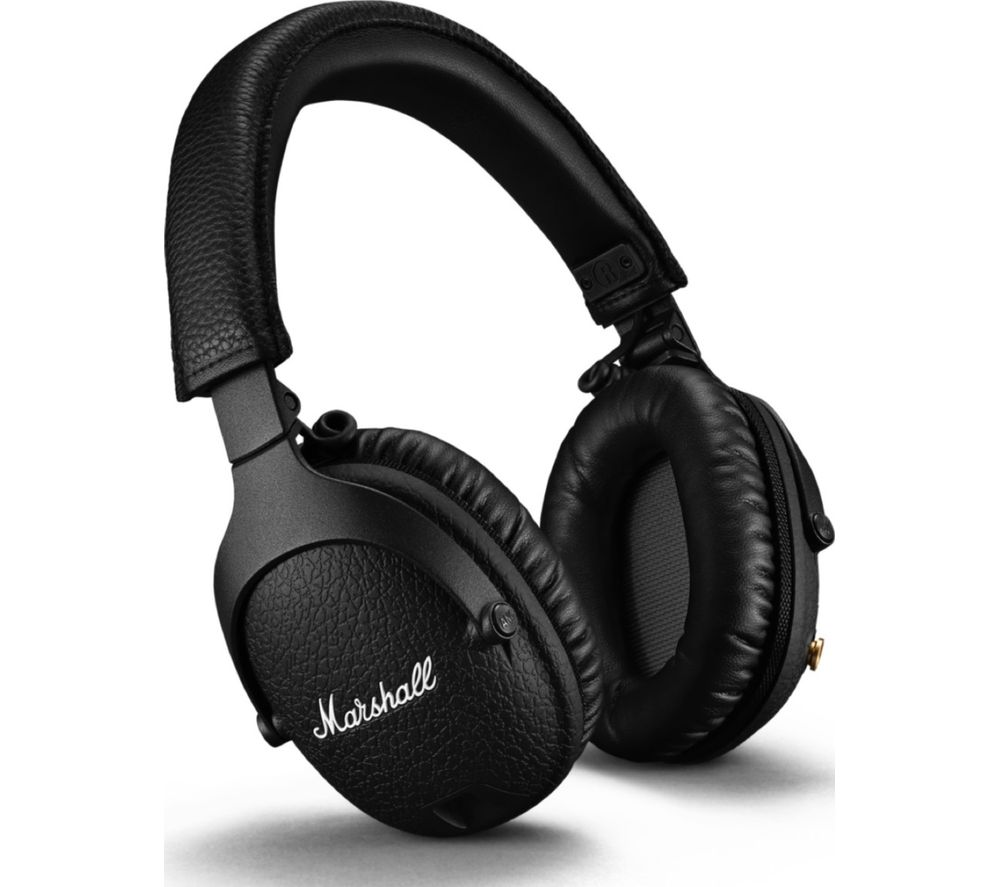 MARSHALL Monitor II Wireless Bluetooth Noise-Cancelling Headphones - Black