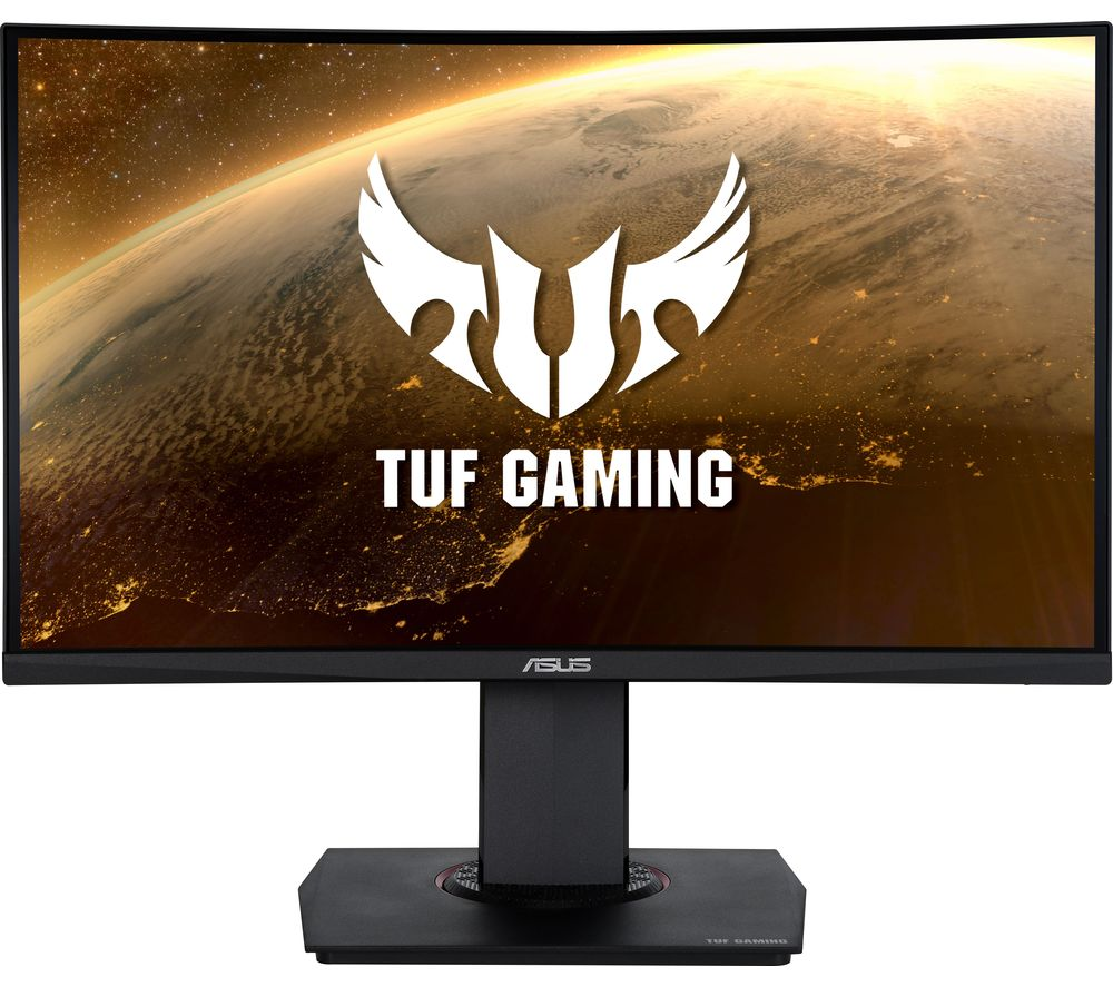 "Image of ASUS TUF VG24VQ Full HD 23.6"" Curved VA LCD Gaming Monitor - Black, Black"