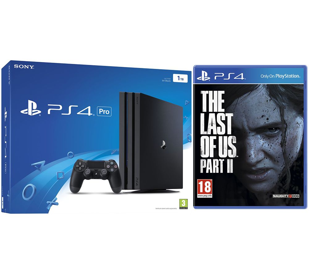 SONY PlayStation 4 Pro & The Last of Us Part II Bundle