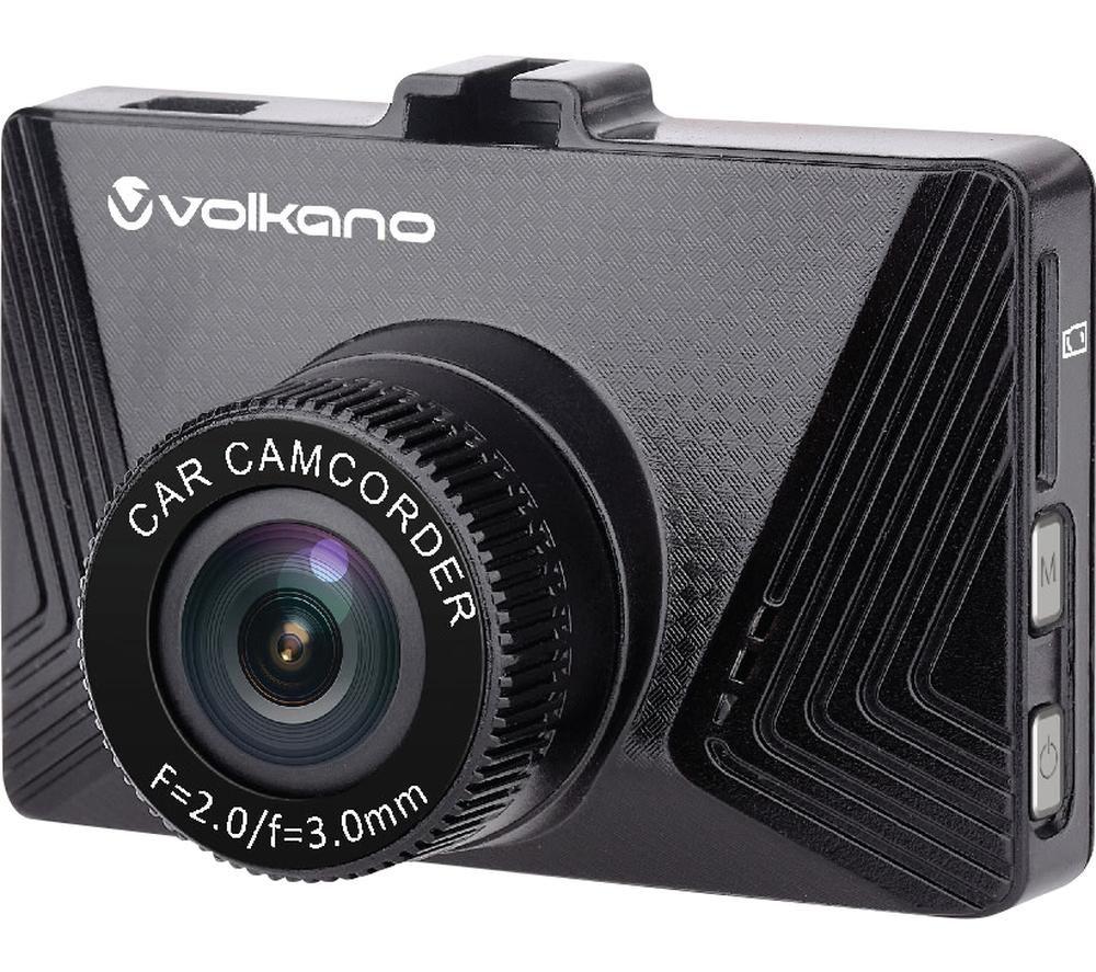 VOLKANO Suburbia Series VK-10007-BK Dash Cam - Black, Black