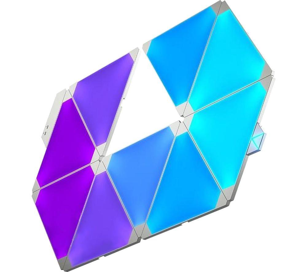 NANOLEAF Rhythm Smarter Kit Smart Lights - Pack of 9