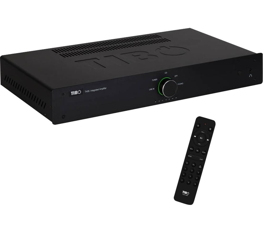 TIBO TI435AMP 2.0 Stereo Amplifier - Black