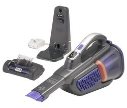Image of BLACK + DECKER Dustbuster BHHV520BFP-GB Handheld Vacuum Cleaner - Purple & Grey