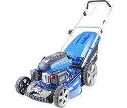 HYM510SP Cordless Rotary Lawn Mower - Blue