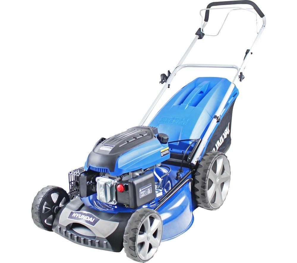 HYUNDAI HYM510SP Cordless Rotary Lawn Mower - Blue