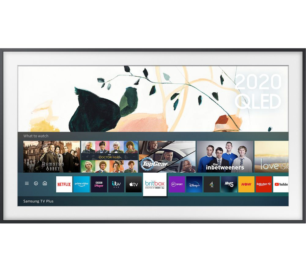 32 SAMSUNG The Frame QE32LS03TBKXXU  Smart Full HD HDR QLED TV with Bixby, Alexa & Google Assistant