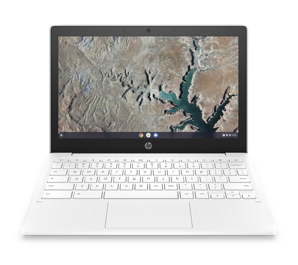 "HP 11a 11.6"" Chromebook - 32 GB eMMC, White"