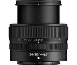 NIKKOR Z 24-50 mm f/4-6.3 Standard Zoom Lens