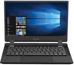 £192, VENTURER Europa 11 LT 11.6inch Laptop - Intel® Celeron™, 64 GB SSD, Black, Windows 10 S, Intel® Celeron® N4000 Processor, RAM: 2GB / Storage: 64GB SSD, Full HD screen, Battery life:Up to 6 hours,