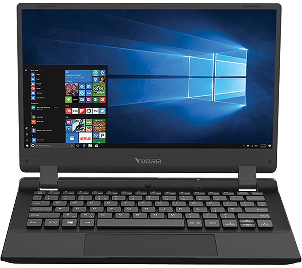 "VENTURER Europa 11 LT 11.6"" Laptop - Intel® Celeron™, 64 GB SSD, Black"