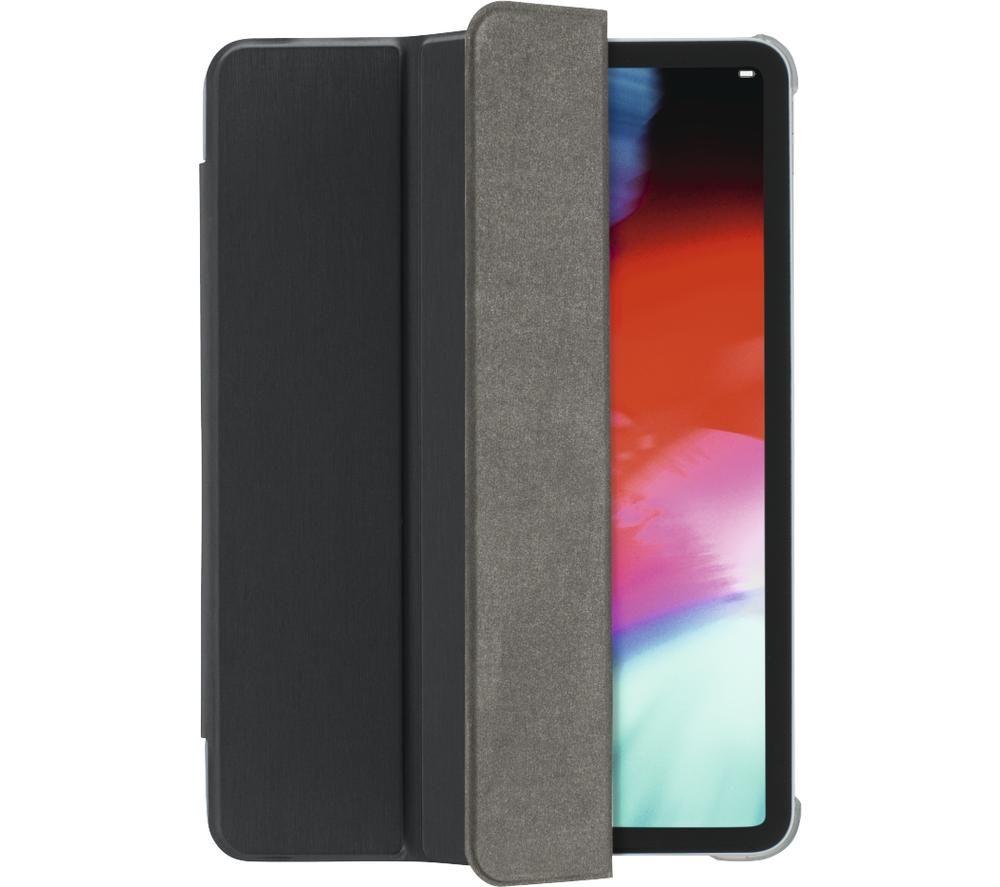 """HAMA Essential Fold Clear 11"""" iPad Pro Case - Black & Grey"""