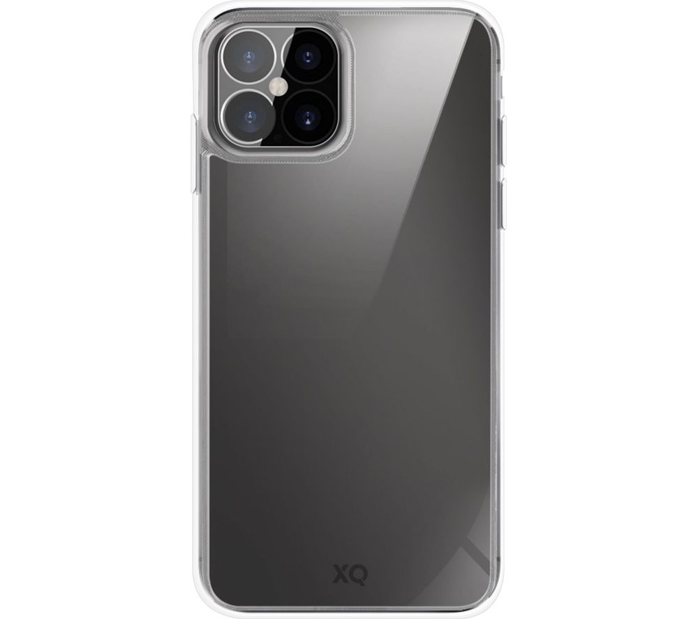 XQISIT iPhone 12 Pro Max Glass Case - Clear