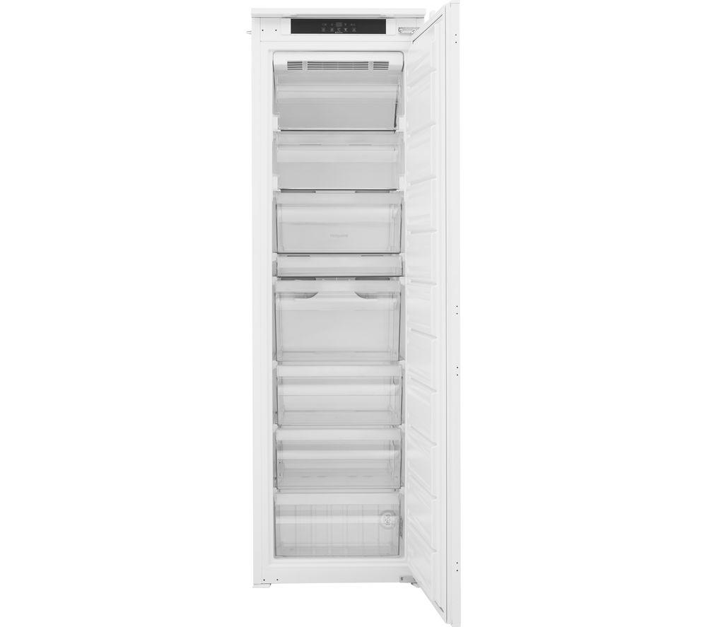 HOTPOINT HF 1801 E F1 UK Integrated Tall Freezer - Sliding Hinge