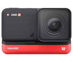 ONE R 4K Ultra HD Action Camera - Black & Red