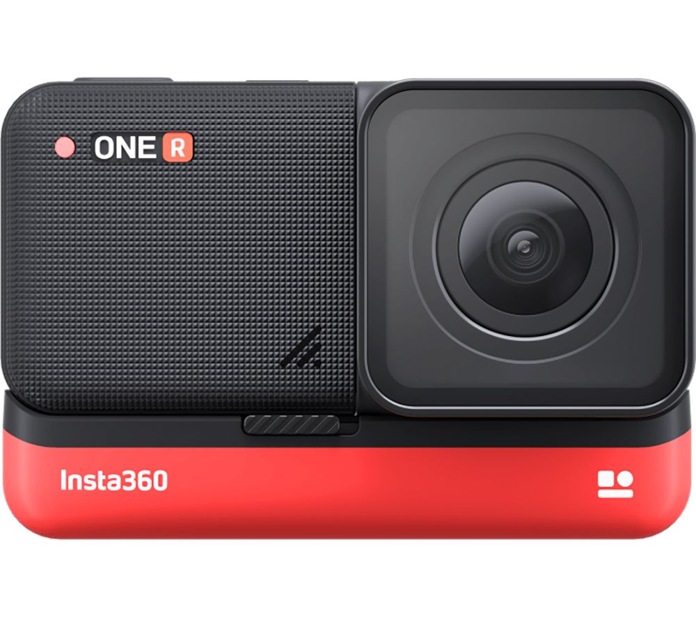 INSTA360 ONE R 4K Ultra HD Action Camera - Black & Red