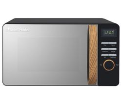 RUSSELL HOBBS Scandi RHMD714B-N Compact Solo Microwave - Black Best Price, Cheapest Prices
